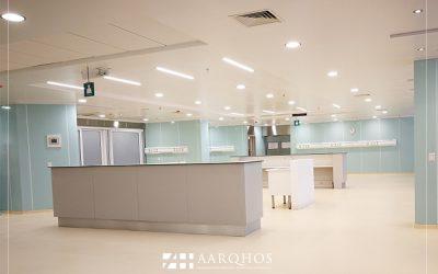 """Iván Hildebrandt """"Es la primera vez que un hospital público de Chile cuenta con sistemas de revestimientos modulares en pabellones"""""""